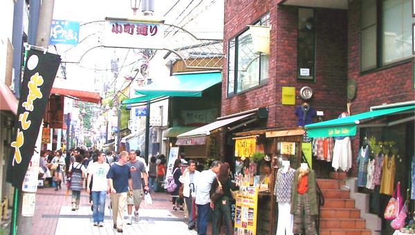 SCENE1:鎌倉小町通り